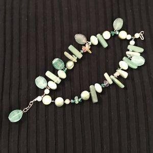 Jewelry - Aquamarine stone bracelet